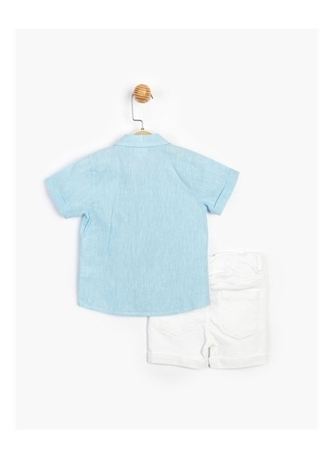 Panolino  Keten Gömlekli Takım 15752 Mavi